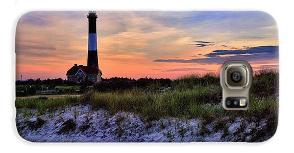 Fire Island Lighthouse Galaxy S6 Case