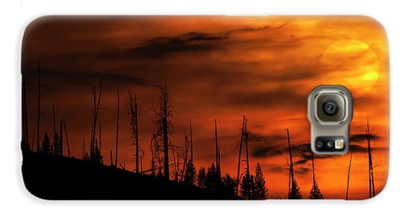 Fire Sky Galaxy S6 Case