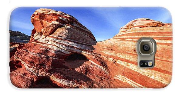 Desert Galaxy S6 Case - Fire Wave by Chad Dutson