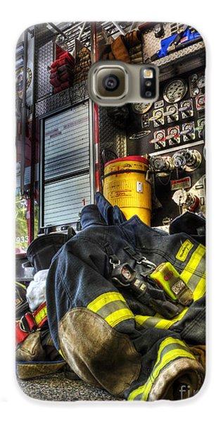 Fireman - Always Ready For Duty Galaxy S6 Case