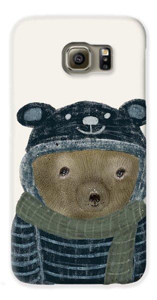 First Winter Bear Galaxy S6 Case