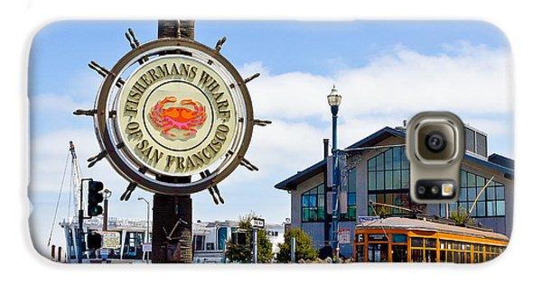 Fishermans Wharf - San Francisco Galaxy S6 Case