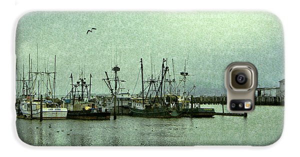 Fishing Boats Columbia River Galaxy S6 Case