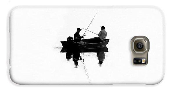 Boa Constrictor Galaxy S6 Case - Fishing Buddies by David Lee Thompson