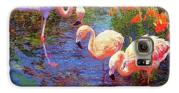 Flamingos, Tangerine Dream Galaxy S6 Case