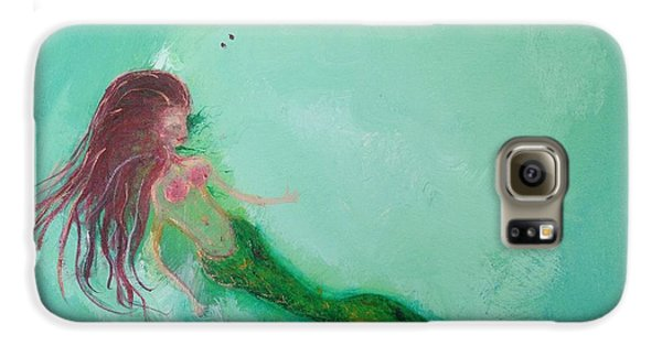Floaty Mermaid Galaxy S6 Case
