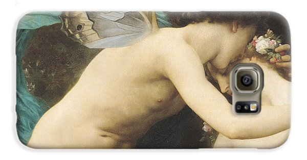 Flora And Zephyr Galaxy S6 Case by William Adolphe Bouguereau