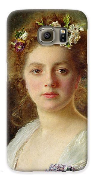 Flora Galaxy S6 Case by Gustave Jacquet