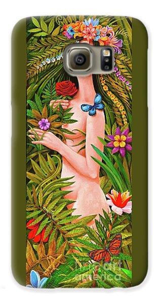 Flora Galaxy S6 Case