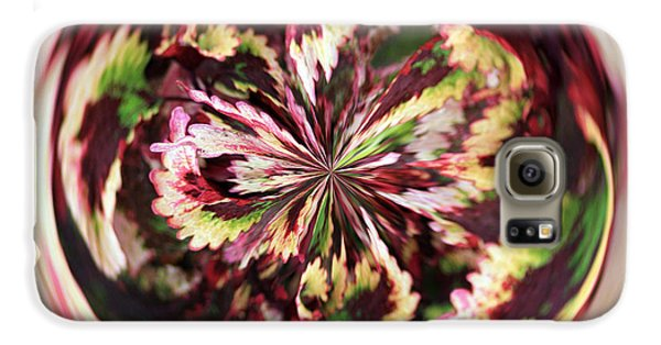 Galaxy S6 Case featuring the photograph Floral Orb by Bill Barber