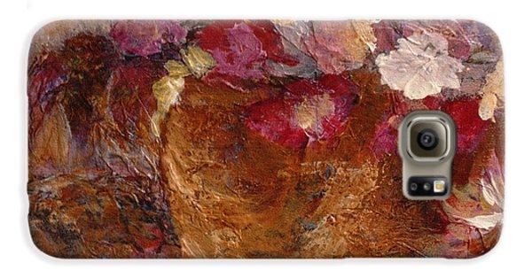 Floral Still Life Pinks Galaxy S6 Case