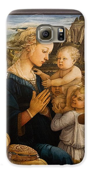 Florence - Madonna And Child With Angels- Filippo Lippi Galaxy S6 Case