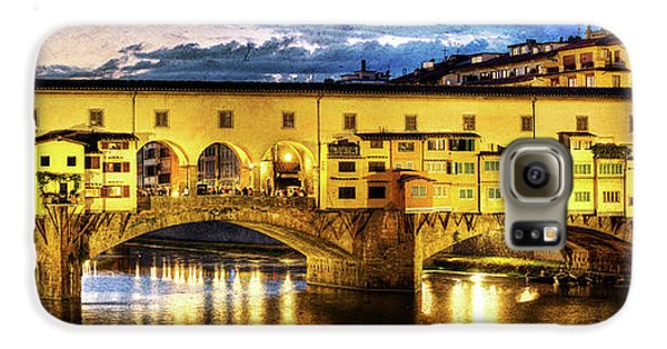 Florence - Ponte Vecchio Sunset From The Oltrarno - Vintage Version Galaxy S6 Case