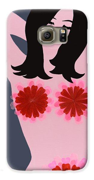Flower Power - Pink Galaxy S6 Case