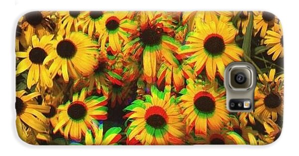 Edit Galaxy S6 Case - Flower Trip by Annie Walczyk