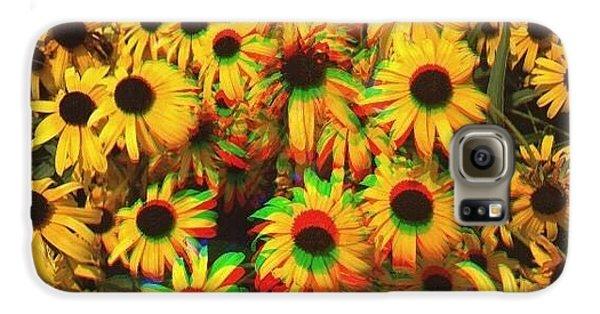 Edit Galaxy S6 Case - Flower Trip by Annie Walczyk