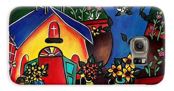 Flowers For The Church #2 Galaxy S6 Case