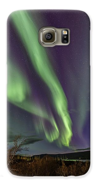 Flowing Aurora Galaxy S6 Case
