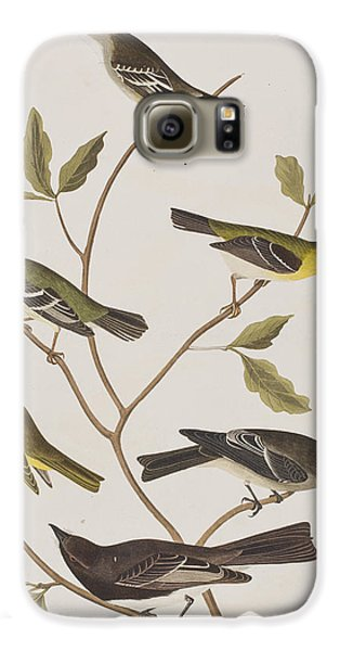 Fly Catchers Galaxy S6 Case by John James Audubon