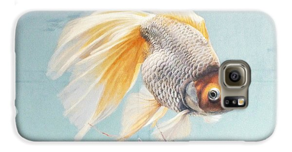 Goldfish Galaxy S6 Case - Flying In The Clouds Of Goldfish by Chen Baoyi