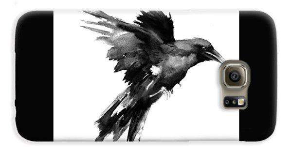 Flying Raven Galaxy S6 Case by Suren Nersisyan