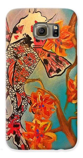 Focus Flower  Galaxy S6 Case by Miriam Moran