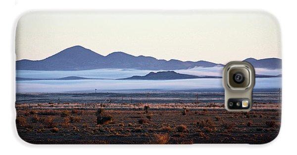 Fog In The Peloncillo Mountains Galaxy S6 Case