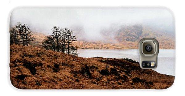 Foggy Day At Loch Arklet Galaxy S6 Case