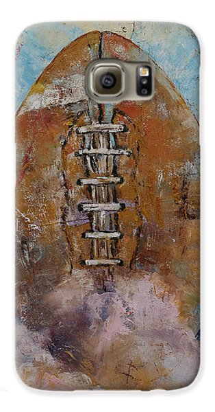 Football Galaxy S6 Case by Michael Creese