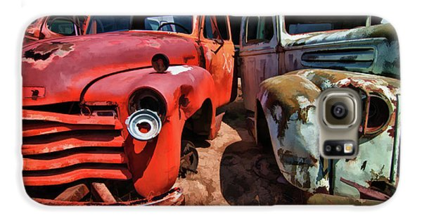 Ford And Chevy Standoff Galaxy S6 Case