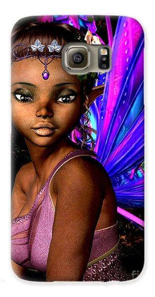 Elf Galaxy S6 Case - Forest Fairy by Alexander Butler