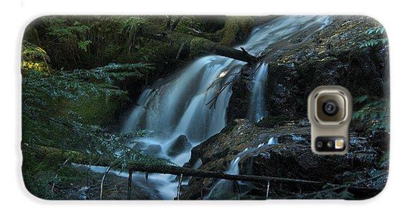 Forest Waterfall. Galaxy S6 Case by Yulia Kazansky