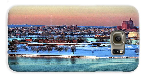 Fort Mchenry Shrouded In Snow Galaxy S6 Case