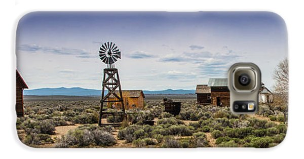 Fort Rock Museum Galaxy S6 Case