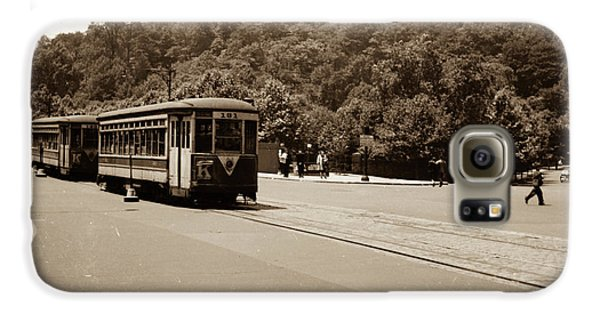 Fort Tryon Trolley Galaxy S6 Case