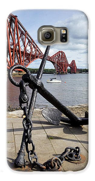 Galaxy S6 Case featuring the photograph Forth Bridge by Jeremy Lavender Photography