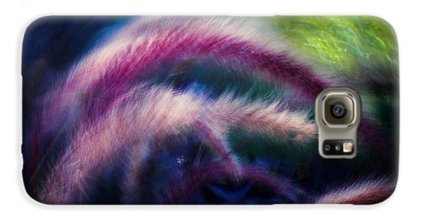 Galaxy S6 Case featuring the photograph Foxtails In Shadows by Rikk Flohr