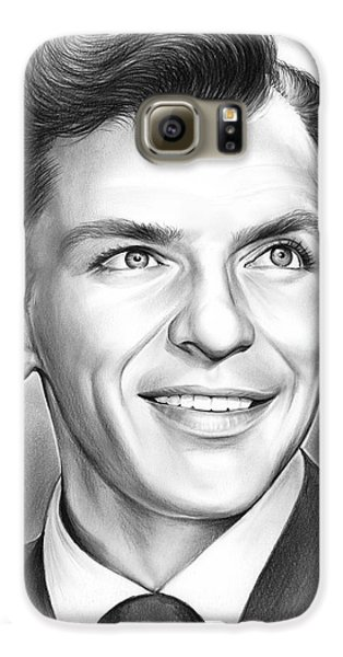 Frank Sinatra Galaxy S6 Case by Greg Joens