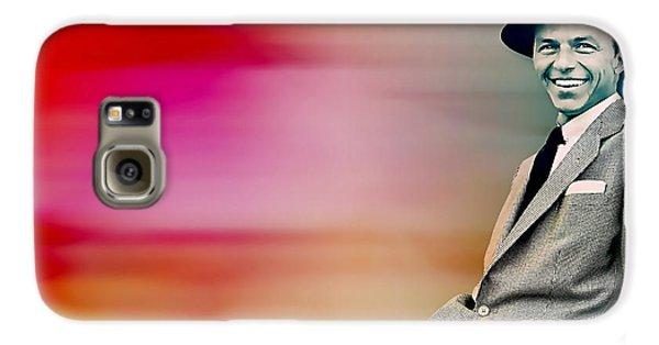 Frank Sinatra Galaxy S6 Case by Marvin Blaine