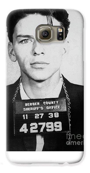 Frank Sinatra Mugshot Galaxy S6 Case by Jon Neidert