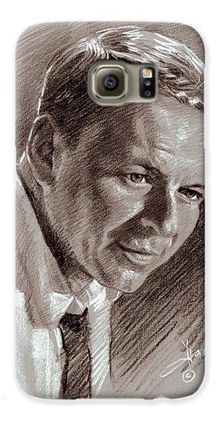 Frank Sinatra  Galaxy S6 Case by Ylli Haruni