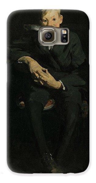 Boy George Galaxy S6 Case - Frankie, The Organ Boy by George Bellows