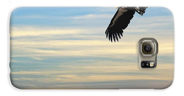 Free To Fly Again - California Condor Galaxy S6 Case