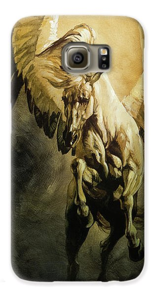 Pegasus Galaxy S6 Case - Freedom by Heather Theurer