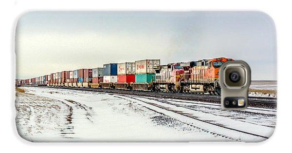 Train Galaxy S6 Case - Freight Train by Todd Klassy