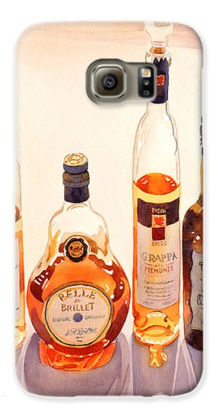 French Liqueurs Galaxy S6 Case by Mary Helmreich