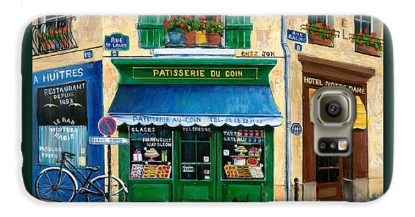 French Pastry Shop Galaxy S6 Case by Marilyn Dunlap