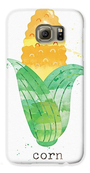 Truck Galaxy S6 Case - Fresh Corn by Linda Woods