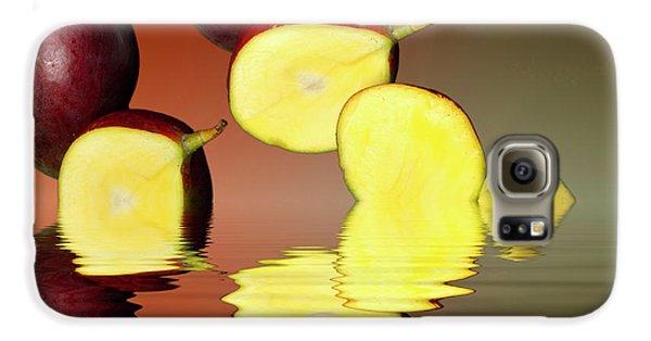 Fresh Ripe Mango Fruits Galaxy S6 Case by David French