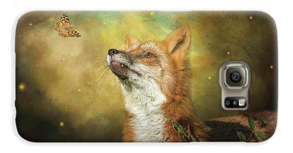 Friends On A Firefly Evening Galaxy S6 Case